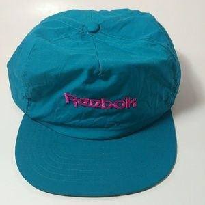 Vtg 1990s Reebok The Pump Advertising Cap